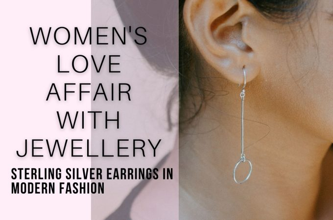 Sterling Silver Earrings In Modern Fashion