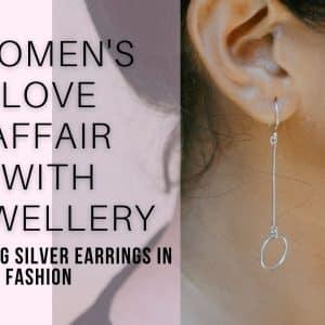 Sterling Silver Earrings In Modern Fashion